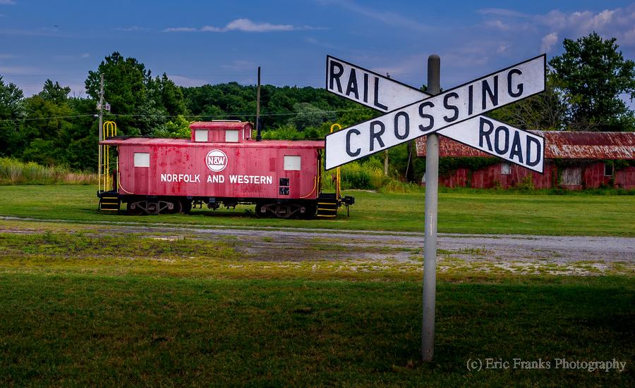 Rail Car in Exmore VA  Print