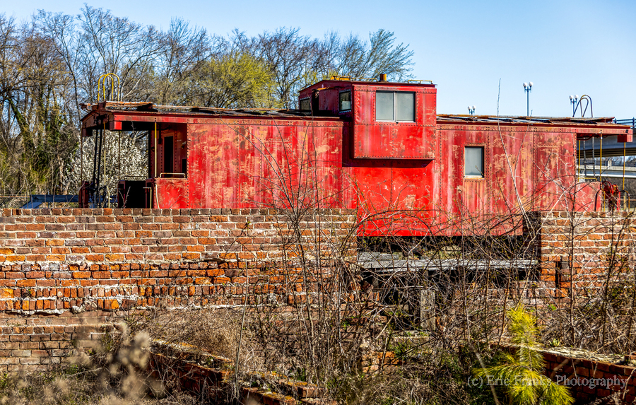 Rail Car in Petersburg VA  Print