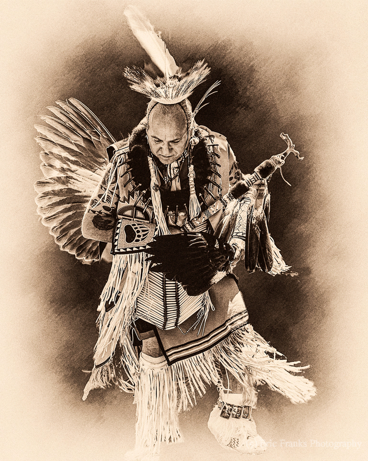 Native American 14  Print