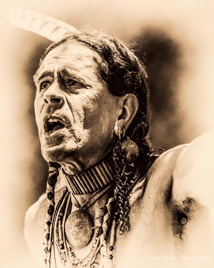 Native American 15  Print