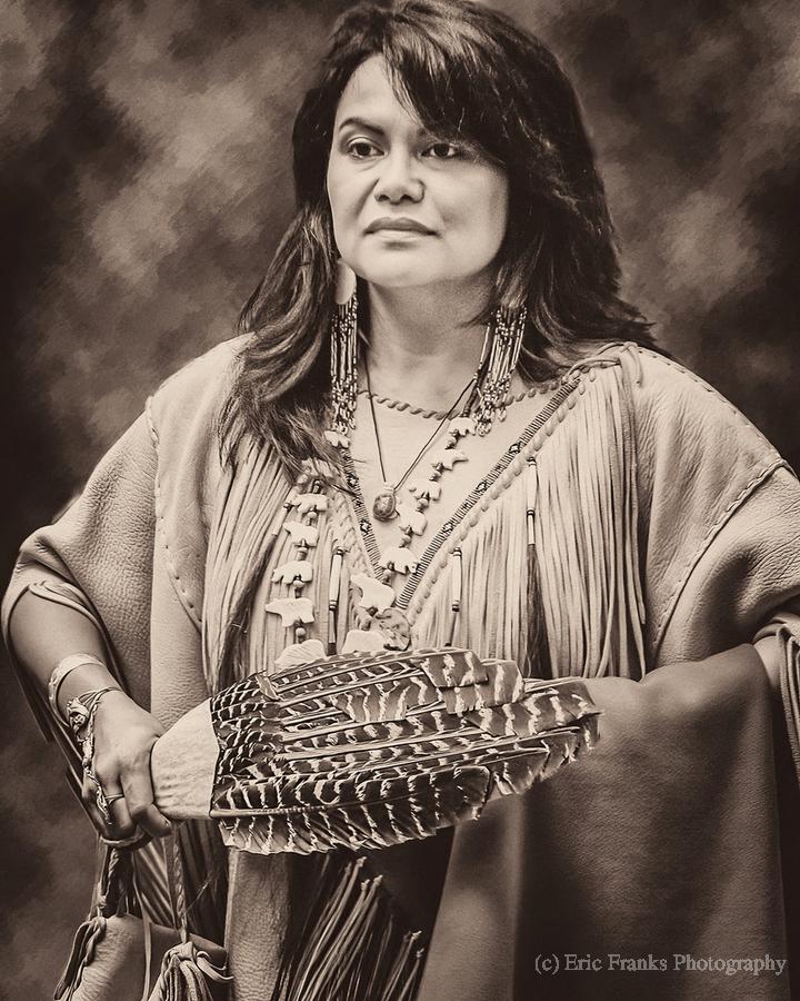 Native American 5  Print