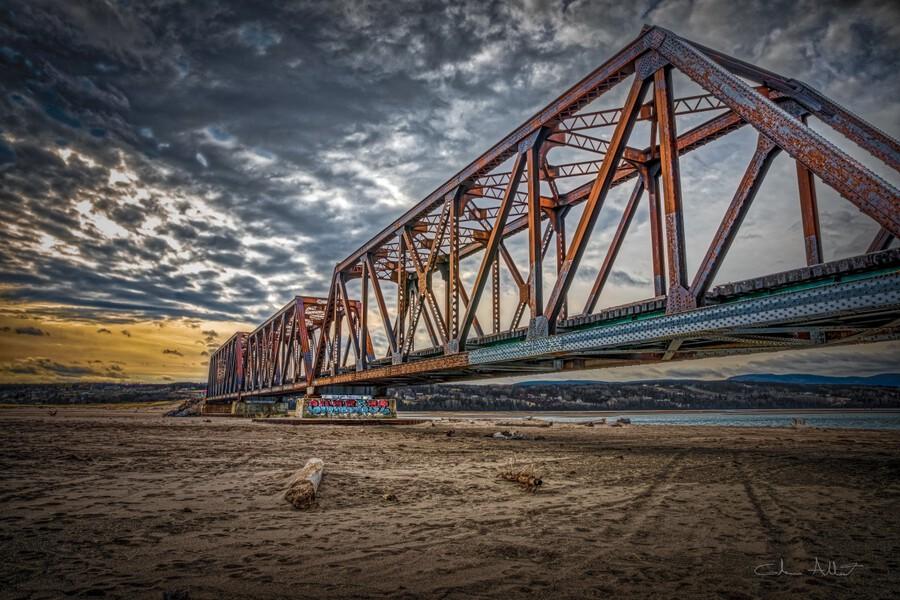 Pont de fer Haldimand  Imprimer