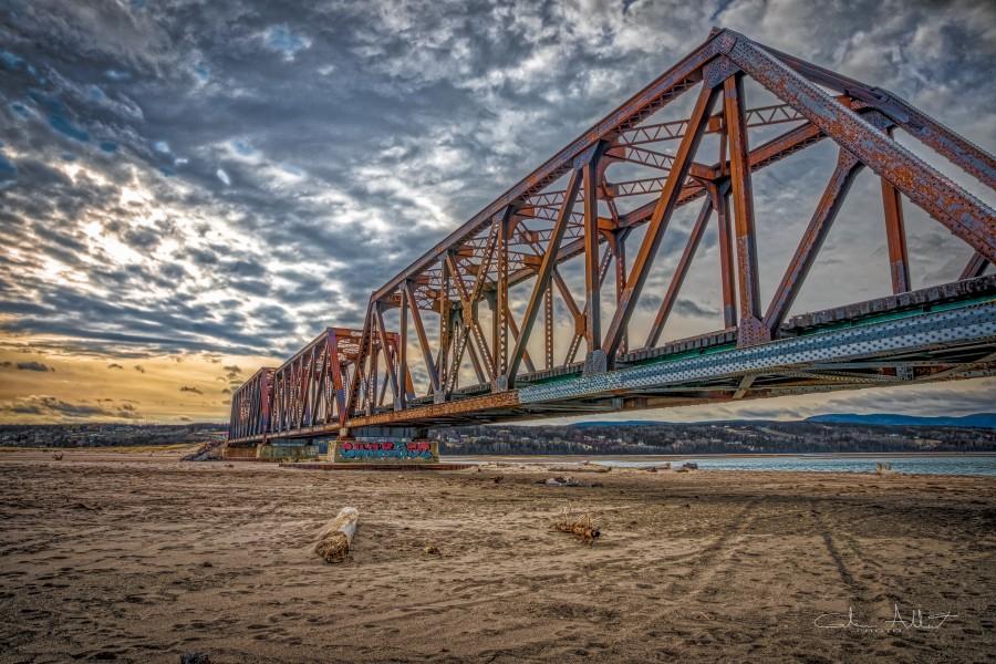 Pont de fer Haldimand  Print