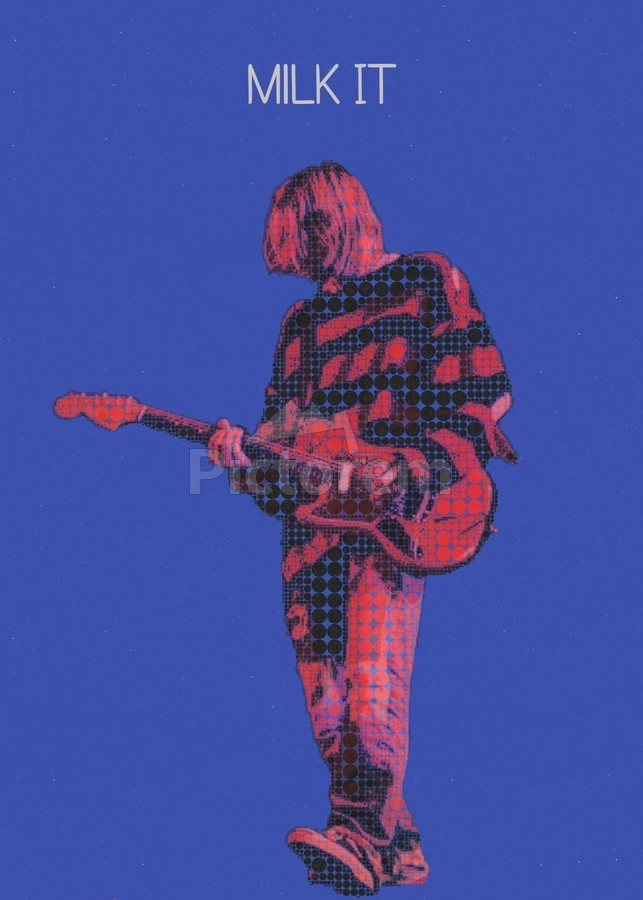 Milk It   Kurt Cobain   Nirvana Live in Chicago October 23 1993  Print
