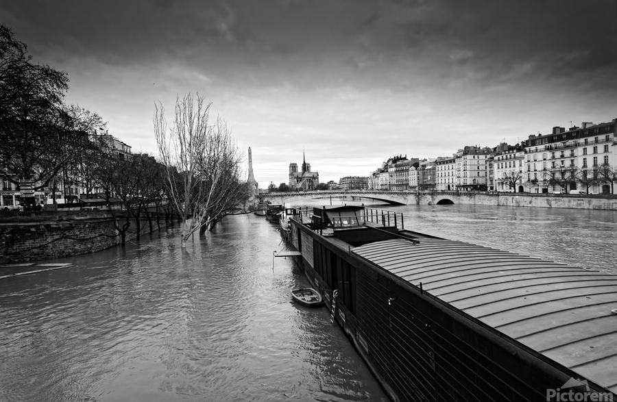Flood in Paris  Imprimer