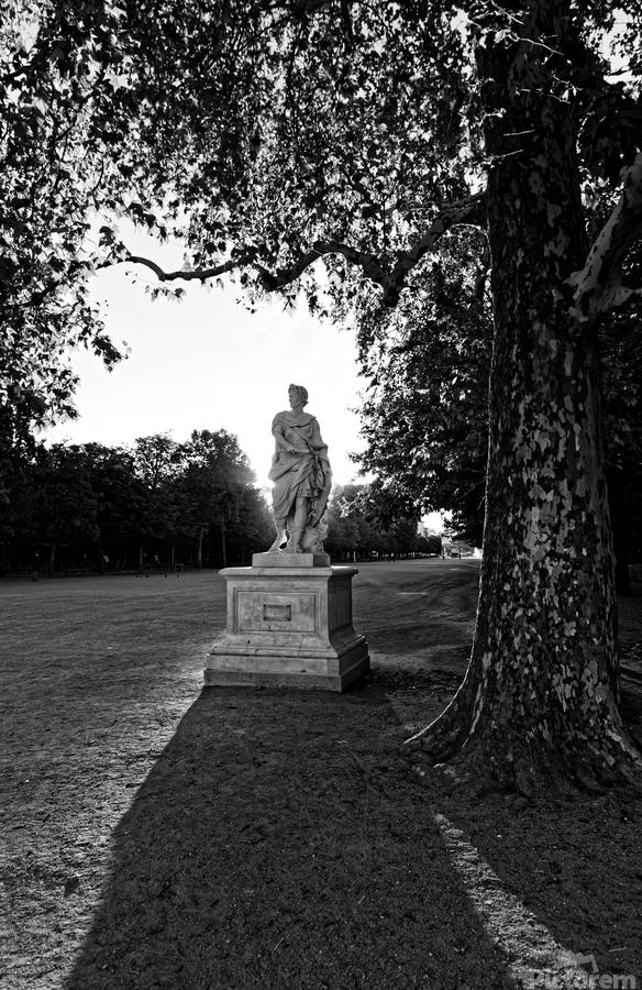 Tuilerie statue  Imprimer