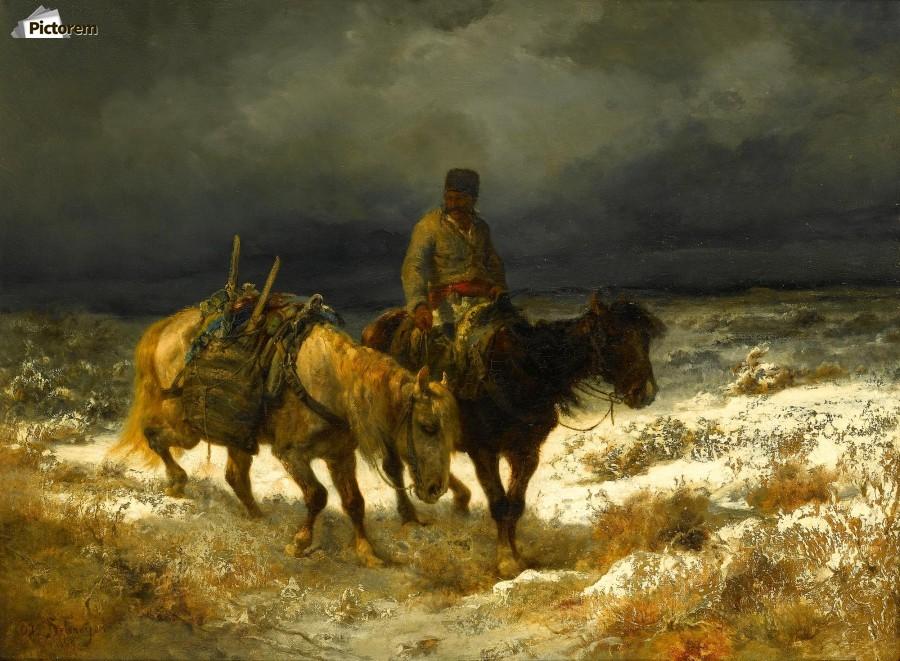 Horseman  Print