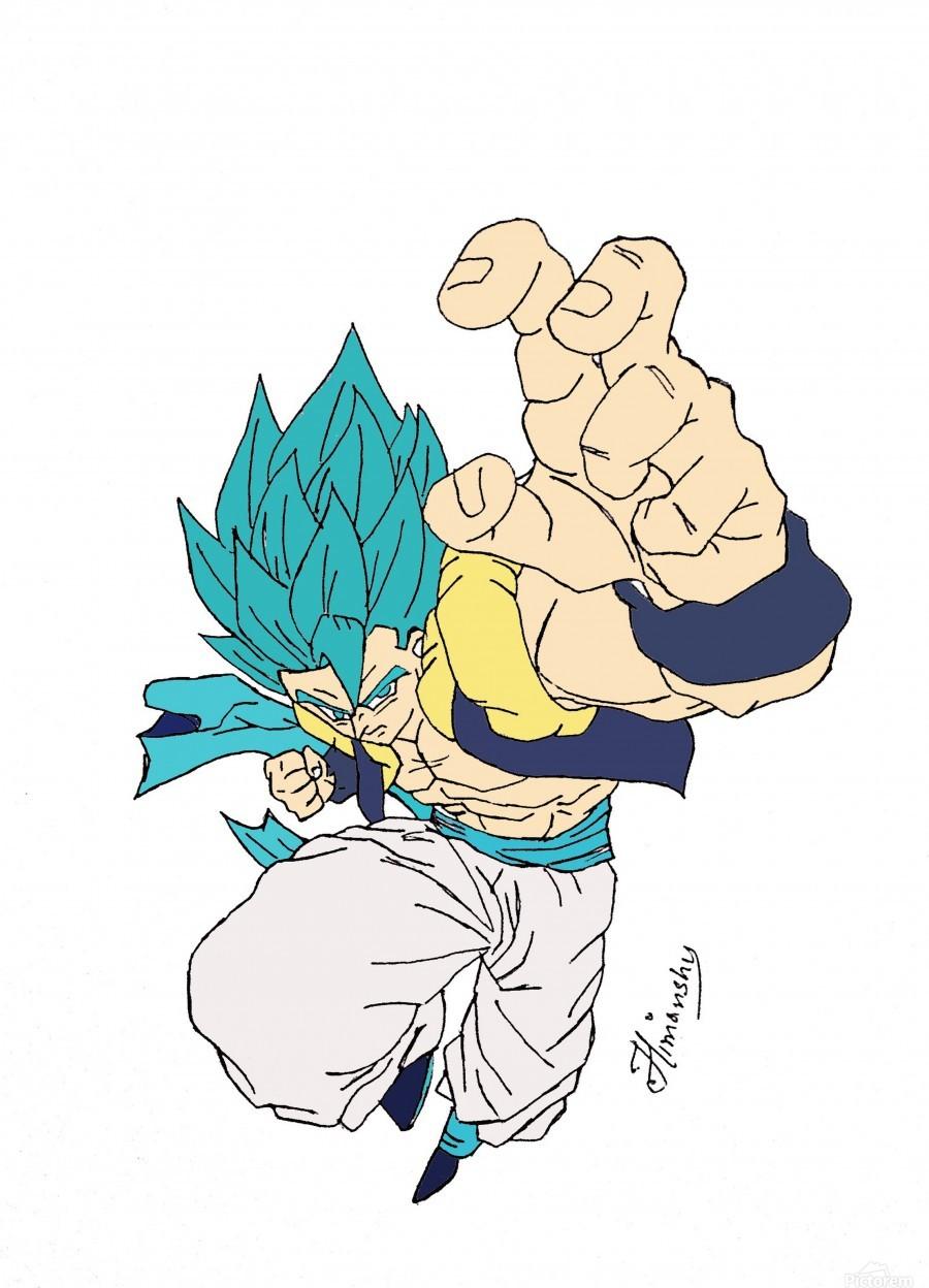 Super Saiyan Blue Gogeta Hunterr