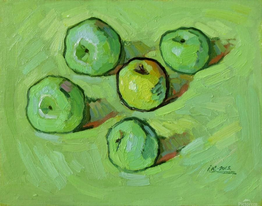 Green Apples  Print