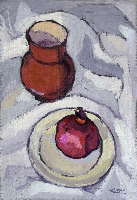 Still Life with Pomegranate  Print