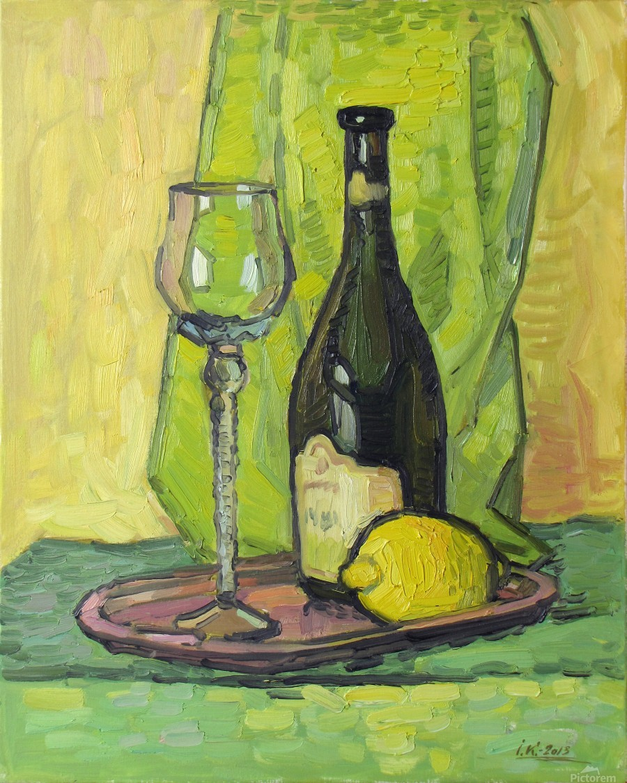 Still Life with Lemon  Print