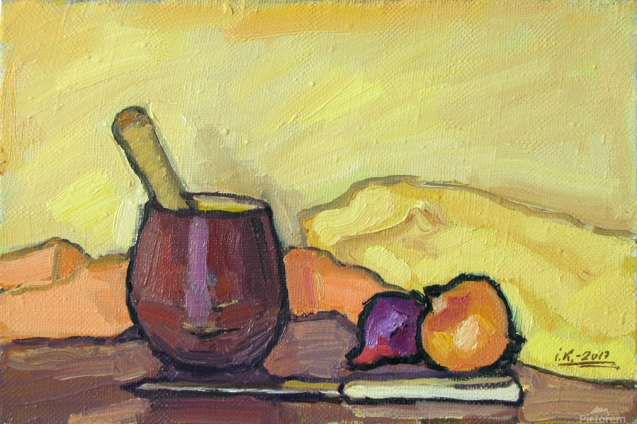 Still Life with Pounder  Print