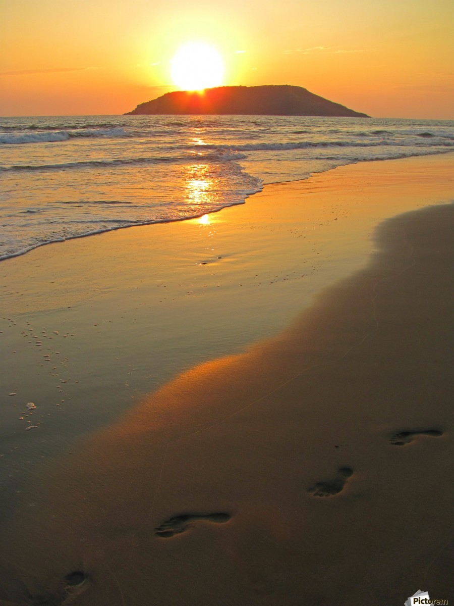 Footprints in the Sand  Print