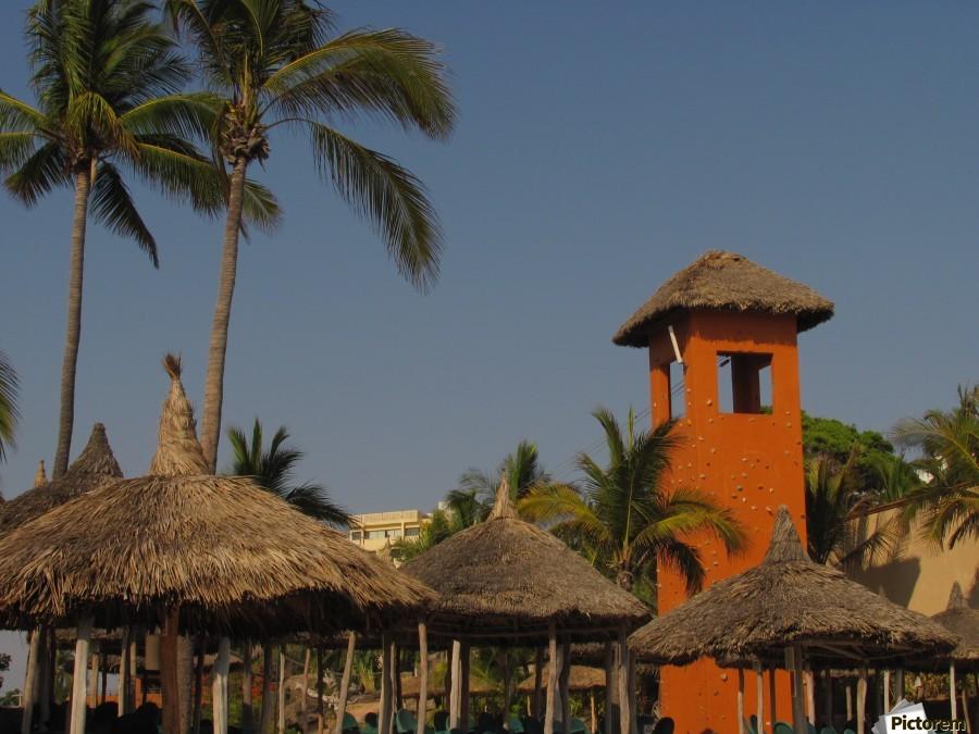 Mazatlan Resort  Print