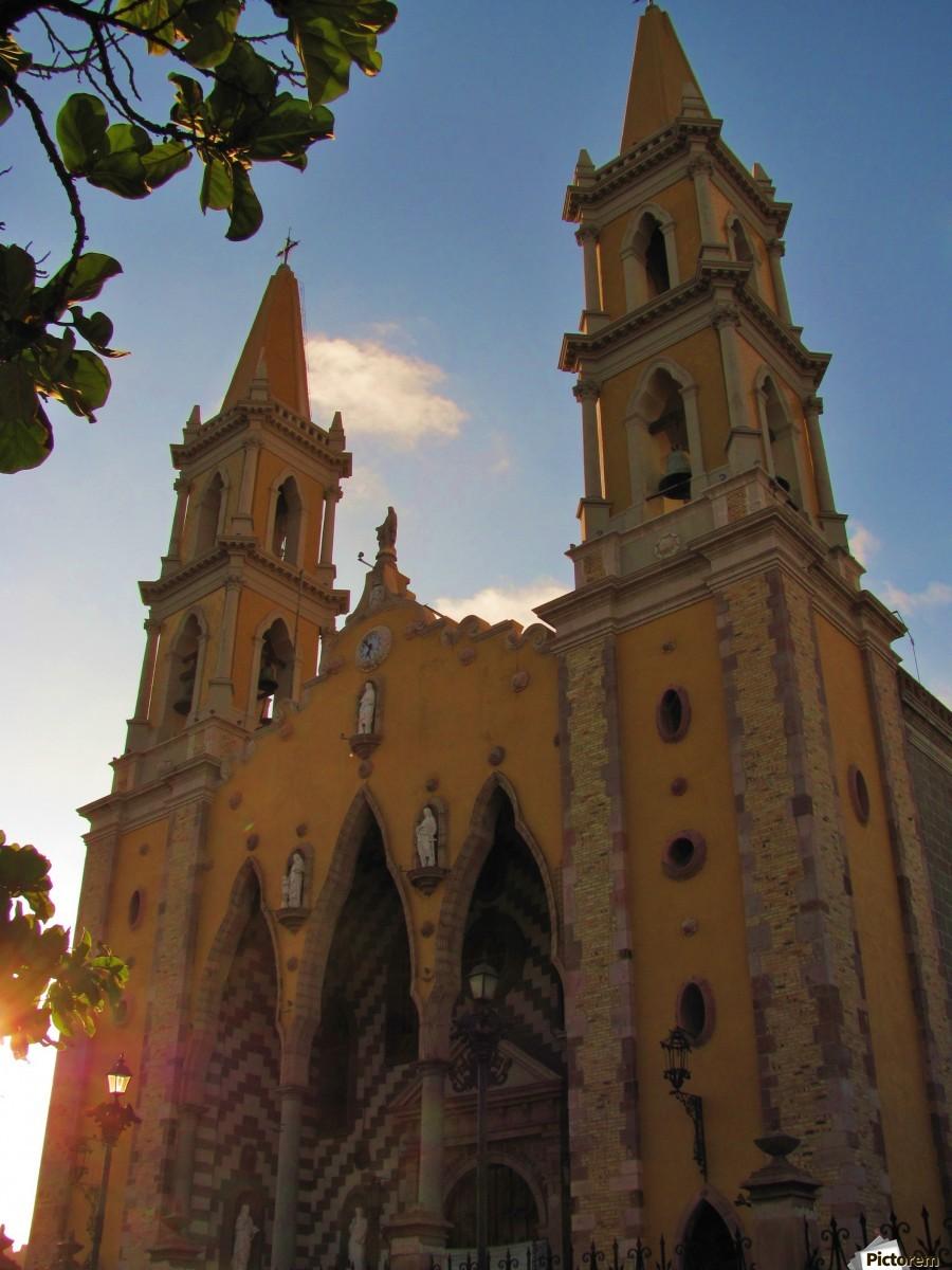 Catedral Basilica de Mazatlan  Print