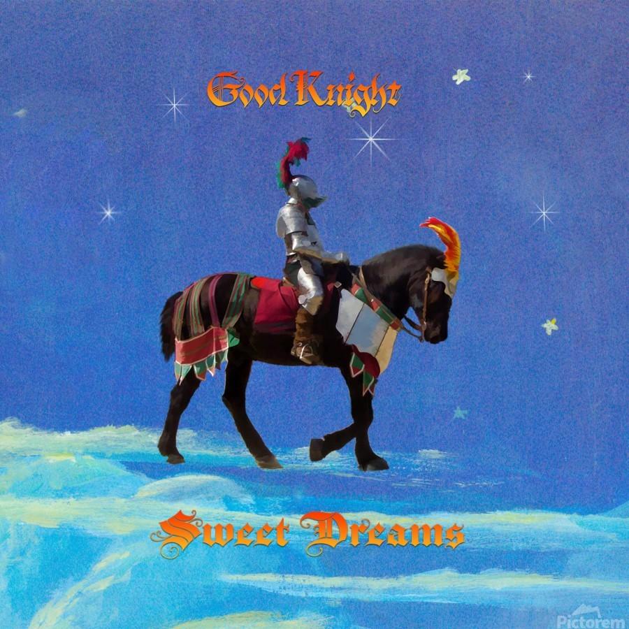 Good Knight  Sweet Dreams  Print