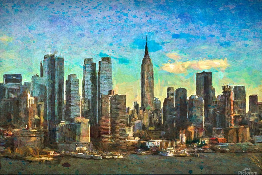 New York Skyline  Print