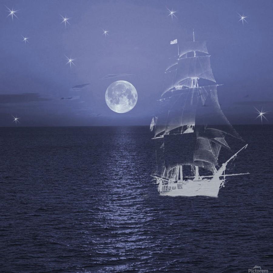 Ghost Ship  Print