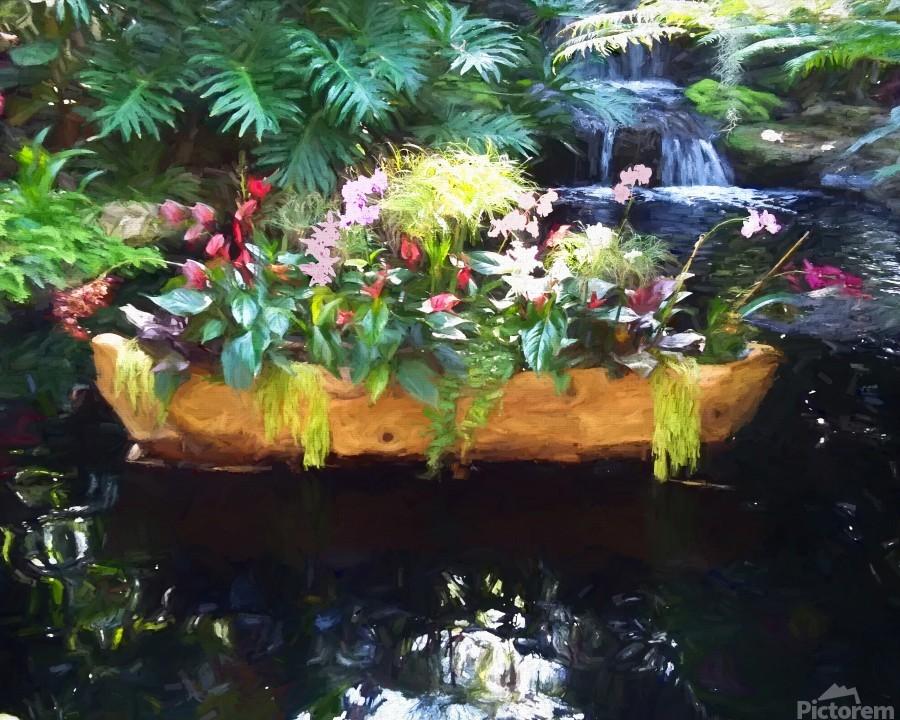 Floating Botanicals  Print
