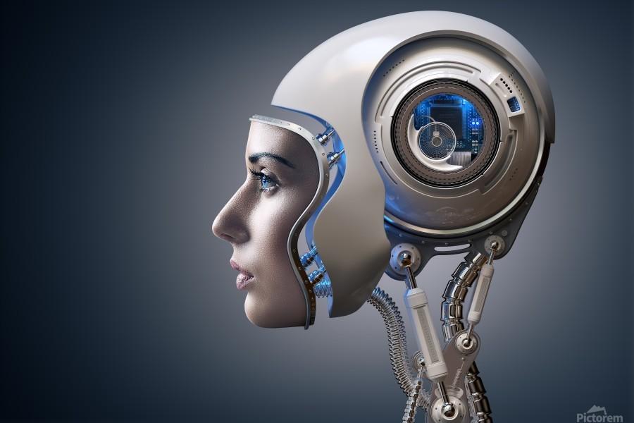 Next Generation Cyborg  Print