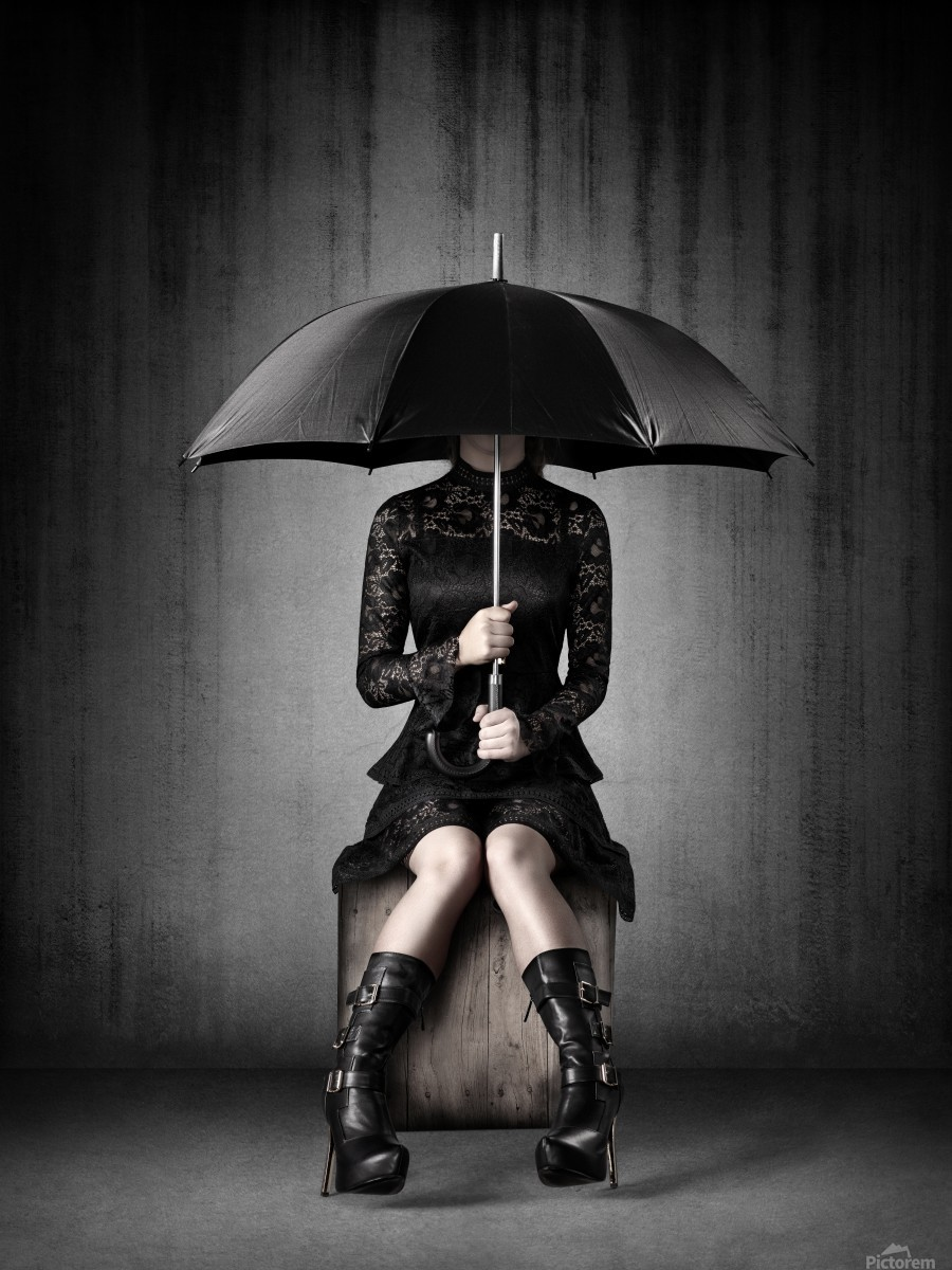 Black Rain  Print