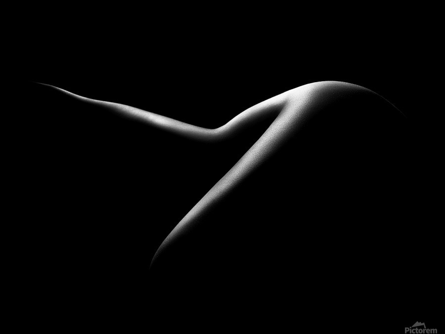 Nude woman bodyscape 15  Print
