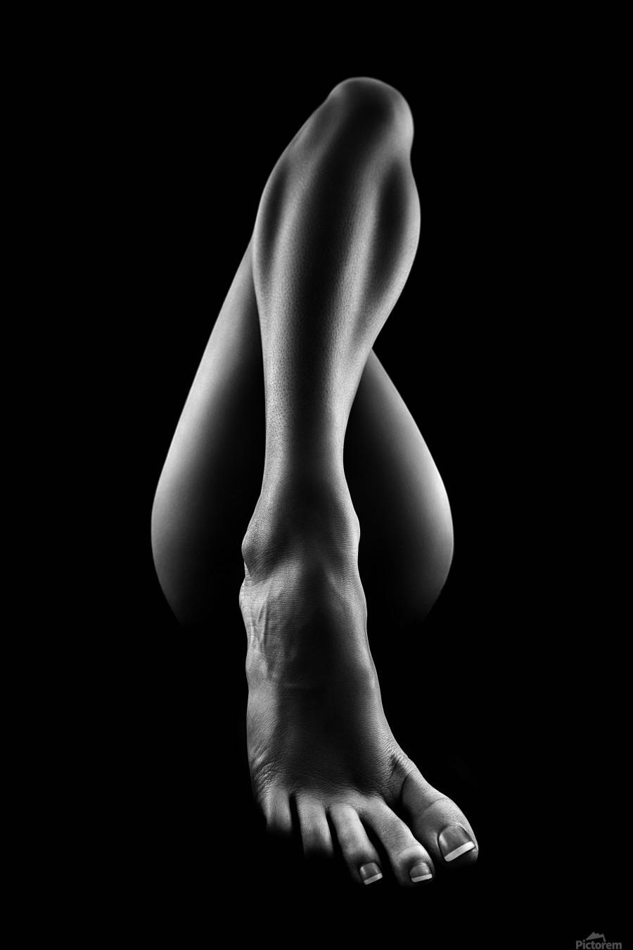 Nude woman bodyscape 56  Print