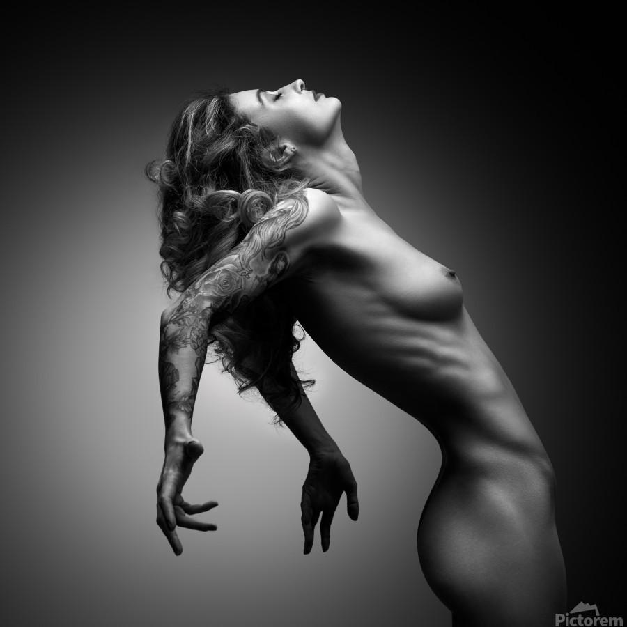 Nude woman fine art 22  Print