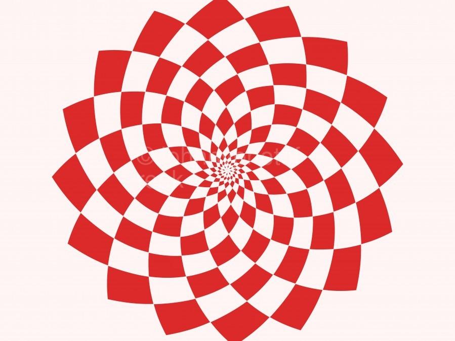 Red flake   Print