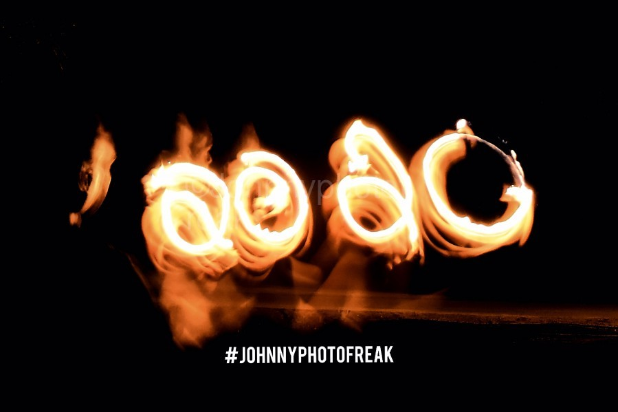 2020 IN FIRE fire painting   Print