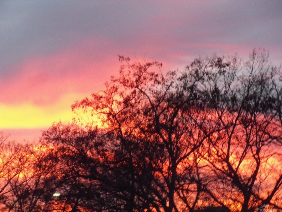 Sunset 3  Print