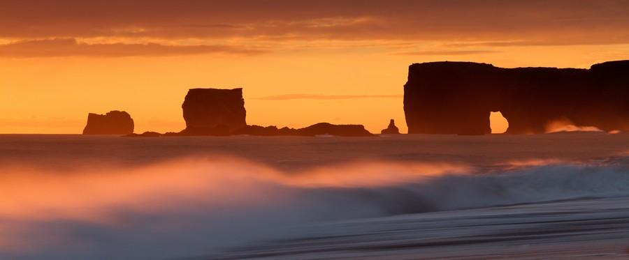 Vik Sunset, Iceland  Print