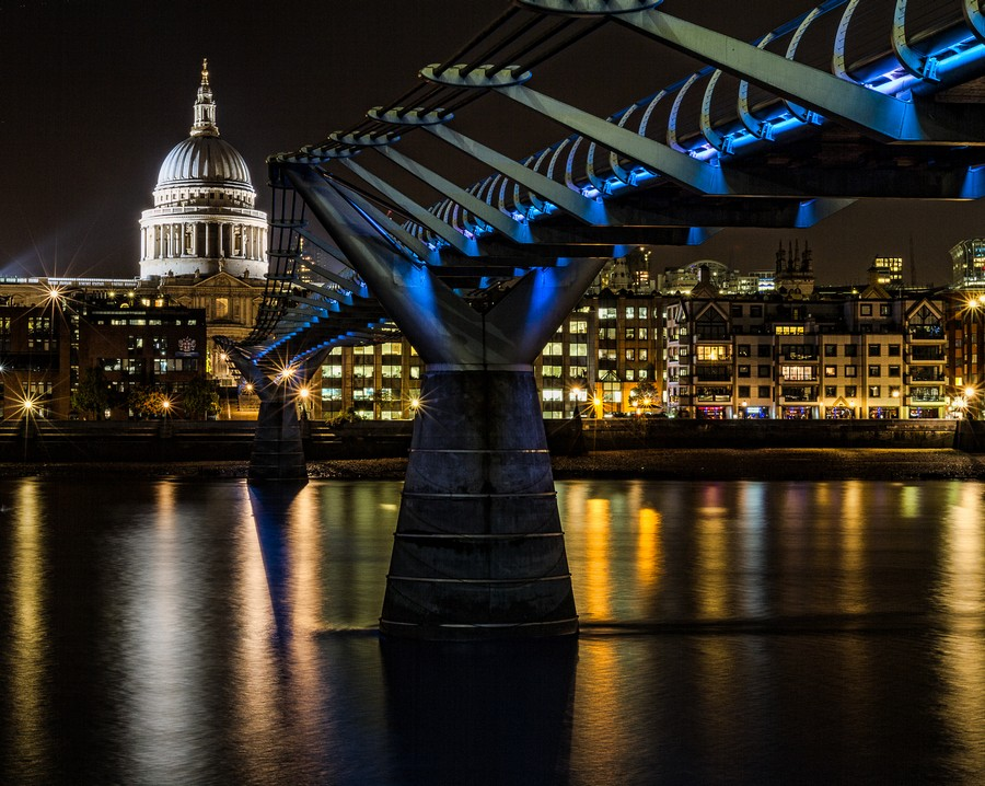 Millenium Bridge, London  Print