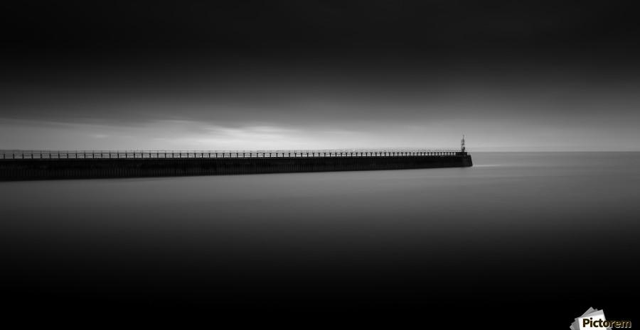East pier Swansea  Print