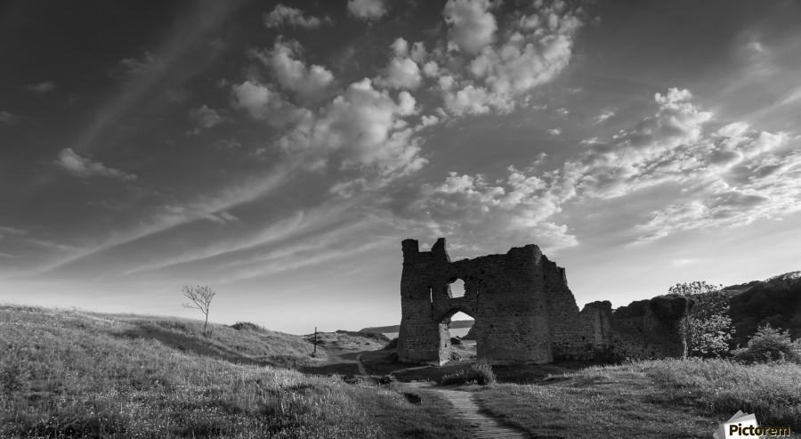 Pennard castle Gower  Print