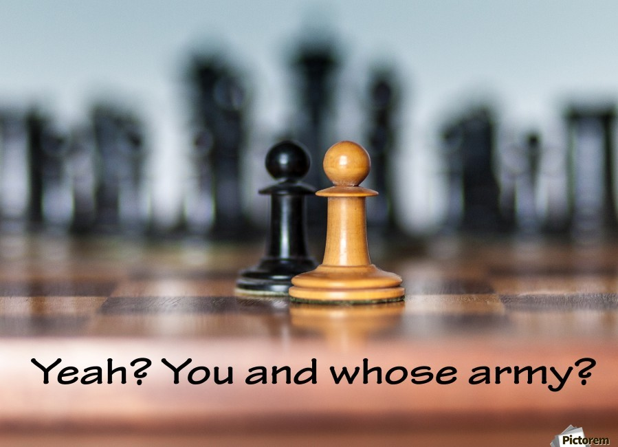 Chess battle  Print