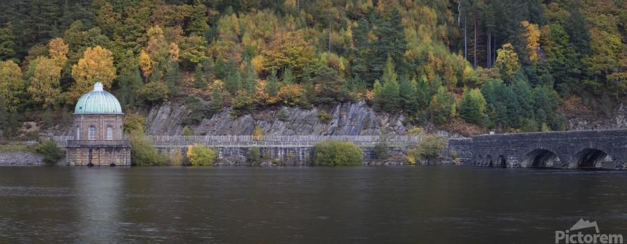 The Carreg Ddu reservoir  Print