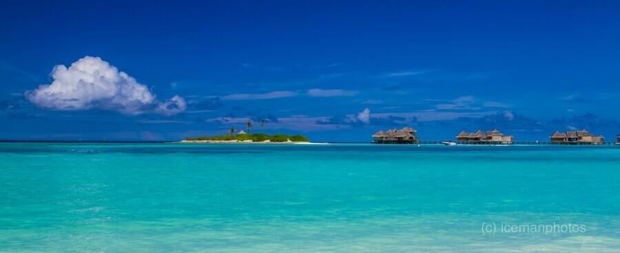 Amazing beach in Maldives, summer travel  Print