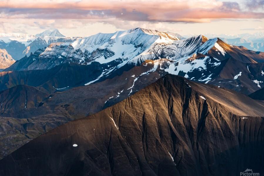 Alaskan Mountains  Print