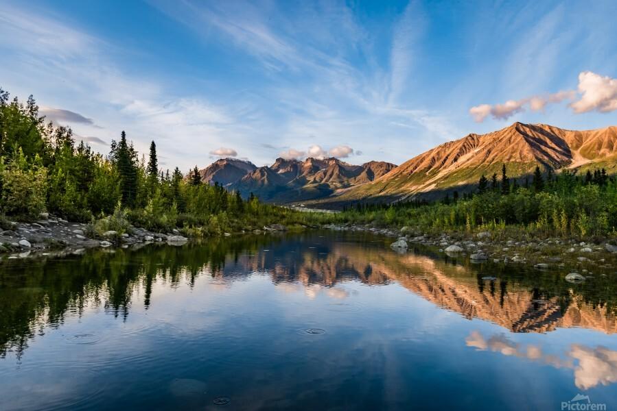 Alaskan Reflection  Print
