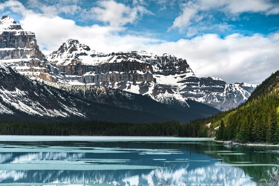 Winter Lake  Print