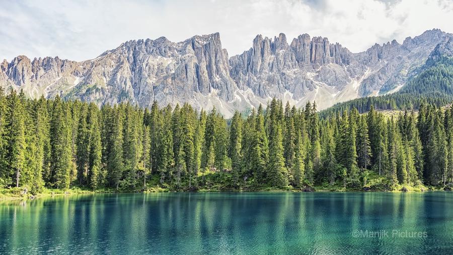 Turquoise Lake  Print