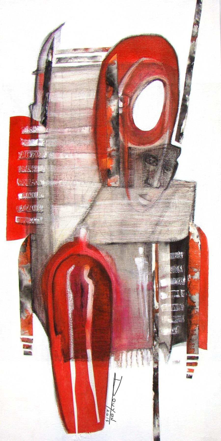 noir_blanc_rouge  Print