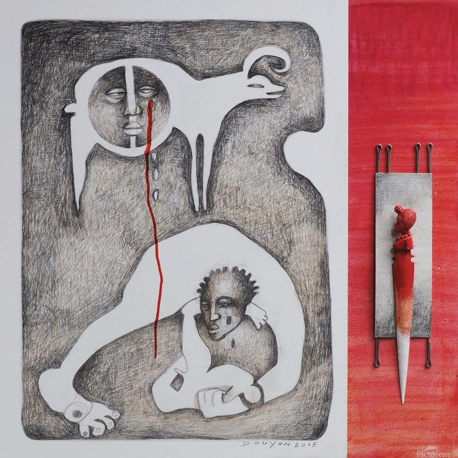 red sacrifice_vermeil  Print