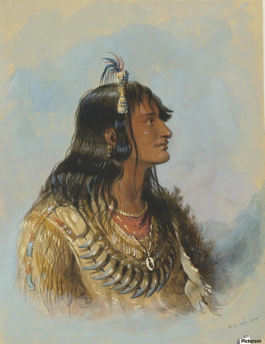 Mawoma  Print