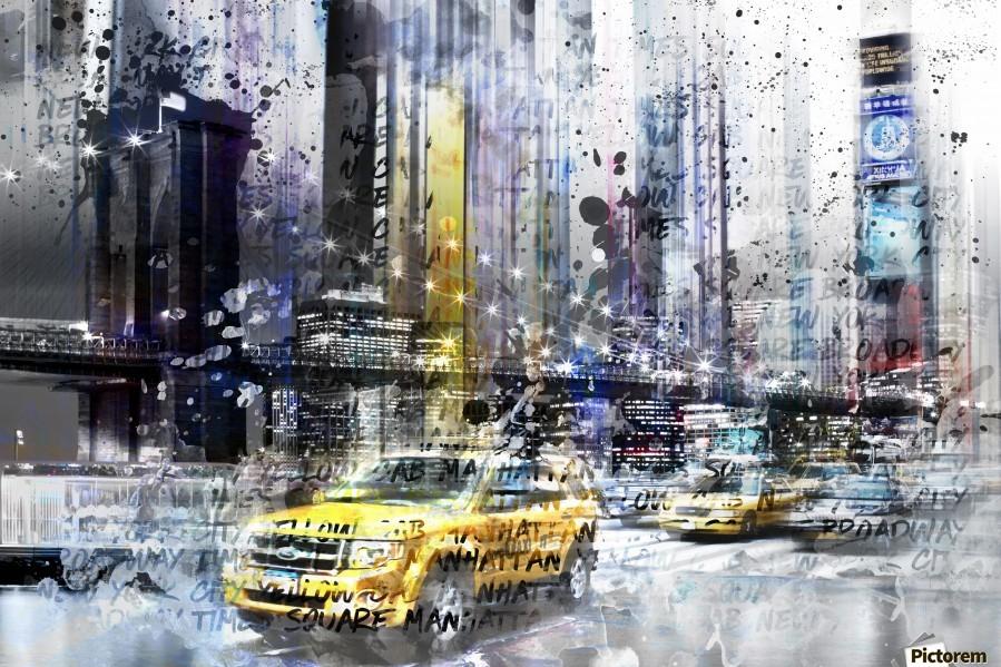 City-Art NYC Collage  Print