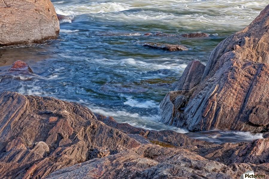 Rocky River Edge  Print