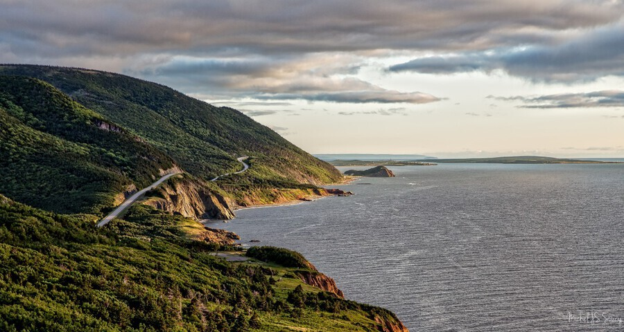 Summer on the Cabot Trail  Print