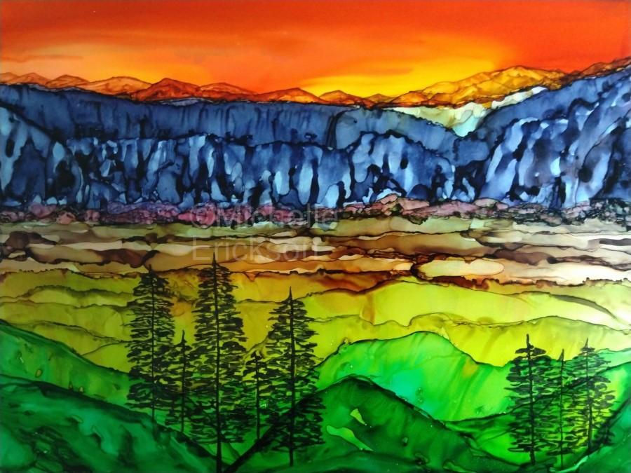 Hidden Canyon  Print