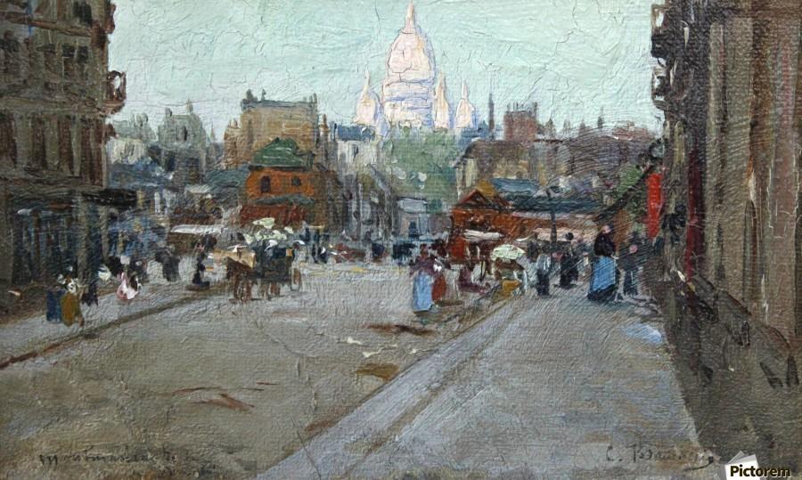 Montmartre  Print